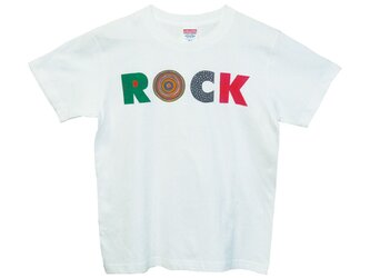 6.2oz Tシャツ white S ROCK-Aの画像