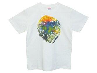 6.2oz Tシャツ white S AR5の画像