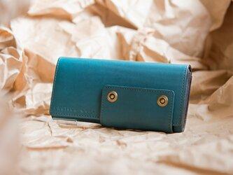 Wallet【Garcia】#indigo buleの画像