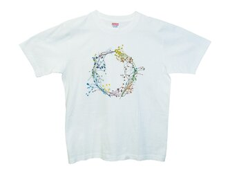 6.2oz Tシャツ white M 22の画像