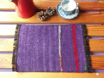裂き織り テーブルマット Cの画像
