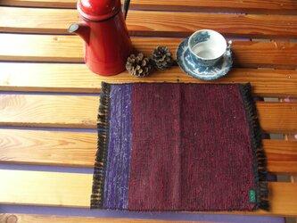 裂き織り テーブルマット Fの画像