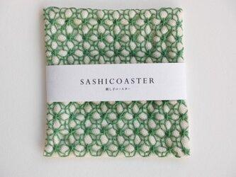 SASHICOASTER(刺し子 コースター)05の画像