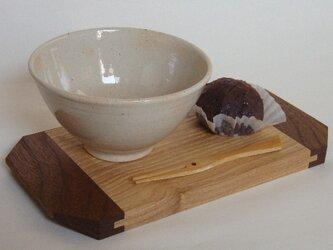 cup plate(タモ/ブラックウォールナット)の画像