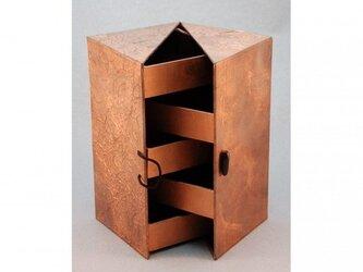 ジュエリーボックス(ブロンズ)の画像