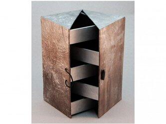 ジュエリーボックス(シルバー)の画像