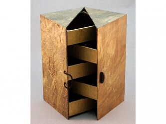 ジュエリーボックス(ゴールド)の画像