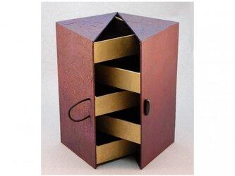 ジュエリーボックス(パープル&ゴールド)の画像