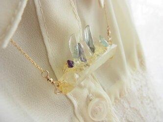 Stone Jewel バーネックレスの画像