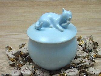 キャンディーBOX・アイスブルー・ニャンコ-Bの画像