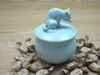 キャンディーBOX・アイスブルー・ニャンコ-Cの画像