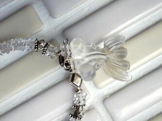 金魚(クリスタル)のネックレスの画像