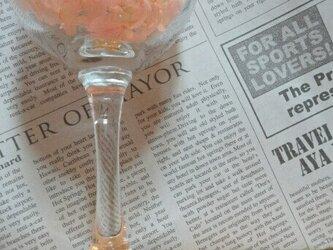 お花畑グラスマーカー(4つセット)の画像