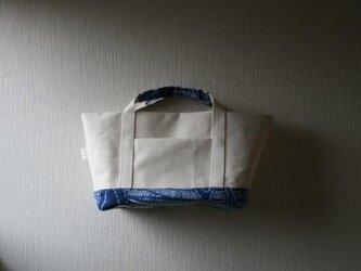 浴衣と帆布のミニトートの画像