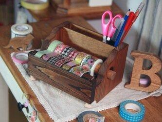 楽マスキングテープカッターポケット付きの画像