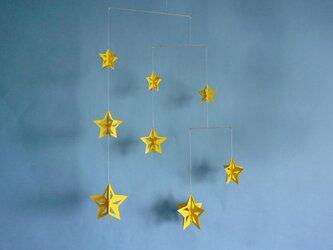 モビール「星B」その1の画像