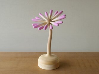 花のボンボンケースの画像