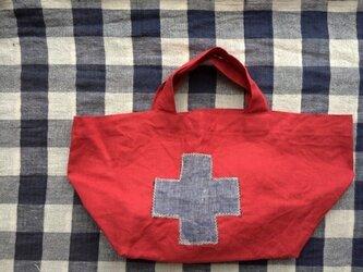 クロスのお散歩バッグの画像