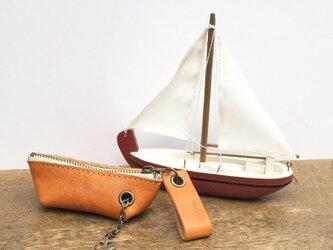 yacht-s キャメル(キーケース)の画像
