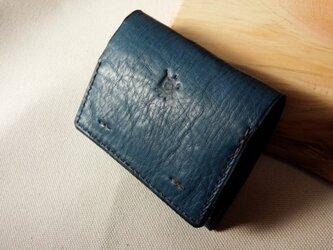 コイン&パスケース 『Pocket』(Blue)の画像