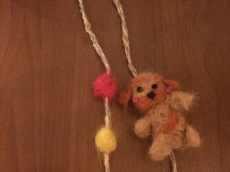 モコモコ可愛いネックレスの画像