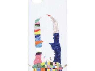 iPhone5/5Sケース 大あご whiteの画像