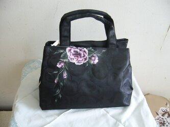 バラのバッグの画像