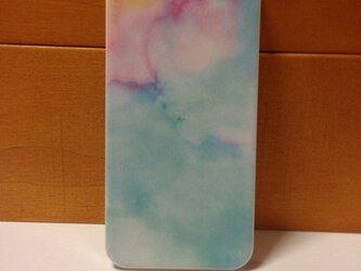 iPhone5/5sケース ピンクブルーの画像