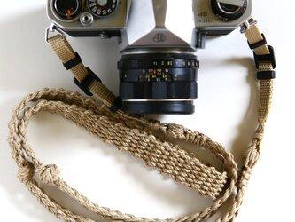麻紐ヘンプカメラストラップA(ベルト)の画像