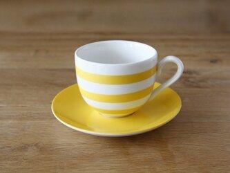 目覚めのティーカップ&ソーサー(レモンイエロー)の画像