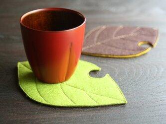 椿コップの画像