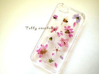 iPhone5 5s ピンクブーケの画像