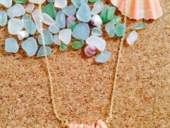 天然珊瑚ネックレスの画像