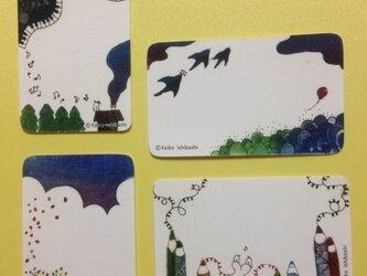 名刺サイズのプチカードの画像