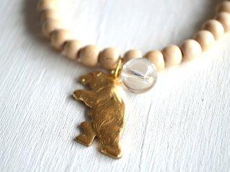 ヴィンテージクマのブレスレットの画像