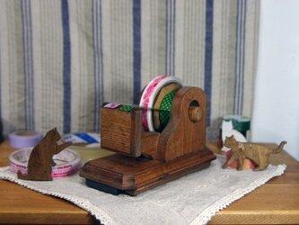 パイン製楽セロマスキングテープカッターM(スチールベース)の画像