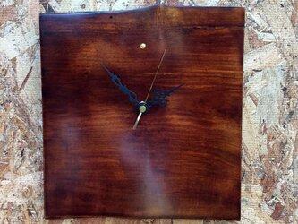 リンゴの掛け時計#184の画像