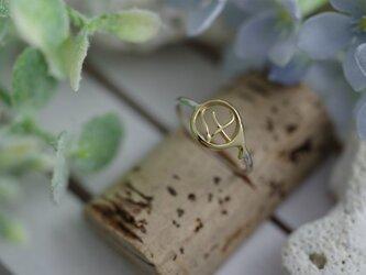 number 4 ring (K14 plating)の画像