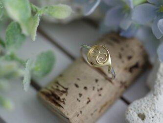number 8 ring (K14 plating)の画像