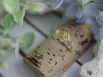 number 9 ring (K14 plating)の画像