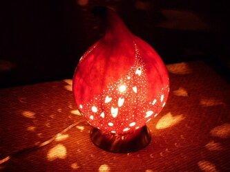 ひょうたんランプ 桜流しの画像