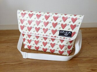 Paper Messengerbag 「Cupid」Lの画像
