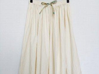 ラウンドスカート(ミルクホワイト)の画像