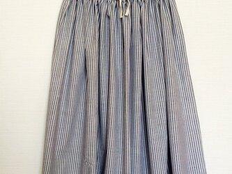 ストライプマキシスカートの画像