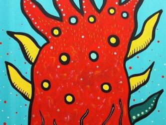 赤い炎 #2の画像