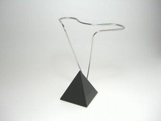メガネスタンド(ブラック)の画像