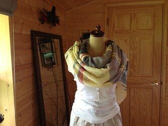 織のコットン イエローの画像