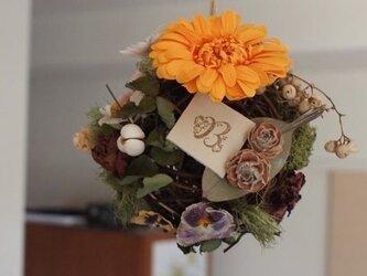 fleur d'oranger B|サンキライミニボールリース*の画像