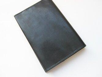 スキニーブックカバー <BLACK>文庫本サイズの画像