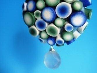 シャイニーネックレス(ブルー)の画像